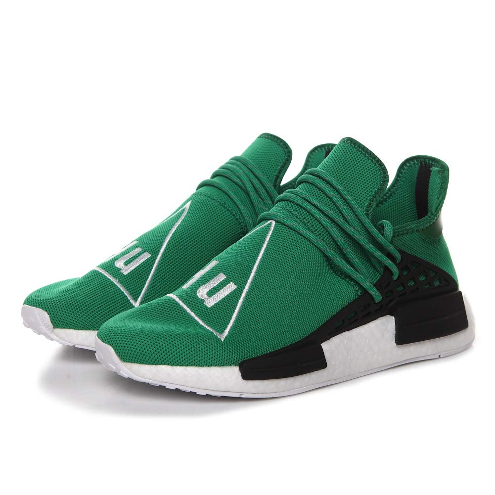 Vert 37 1 3 EU Huhomme Race NMD Trail Pharrell Williams SungFaible Hommes Femmes Training chaussures FonctionneHommest Gym paniers