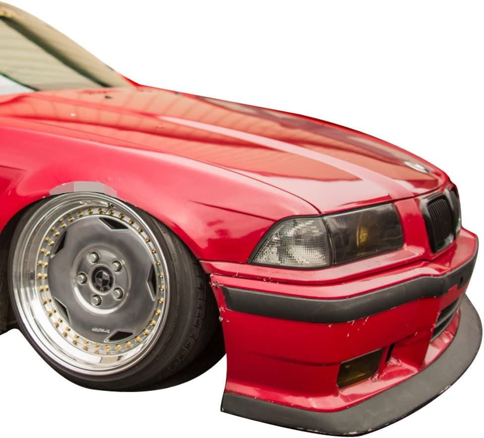 Front Lip M3 Style Bumper For BMW 3 Series 92-98 E36 LH RH Yellow ...