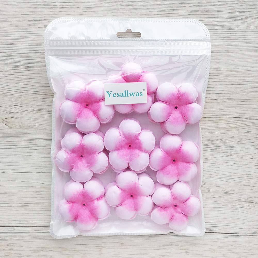 Yesallwas Artificial Cherry Blossom Petals Wedding Petals Fake Artificial Flower Home and Wedding Decor 450Pcs