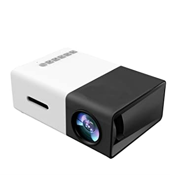 Mini Proyector protatile Full HD1080P LED Proyector Home Cinema Theater con soporte USB/SD/AV/HDMI Soporte para PC portátil ...