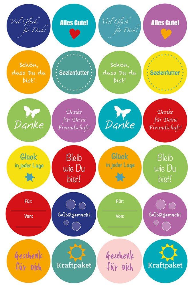24//étiquettes cadeau d/écoratives pour g/âteaux cupcakes mais aussi tous types de cadeaux biscuits East-West Trading Lot de 12/bo/îtes en carton naturel