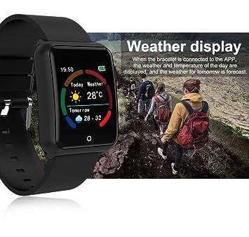 Amazon.com: M39 Reloj inteligente para hombre, correa de ...
