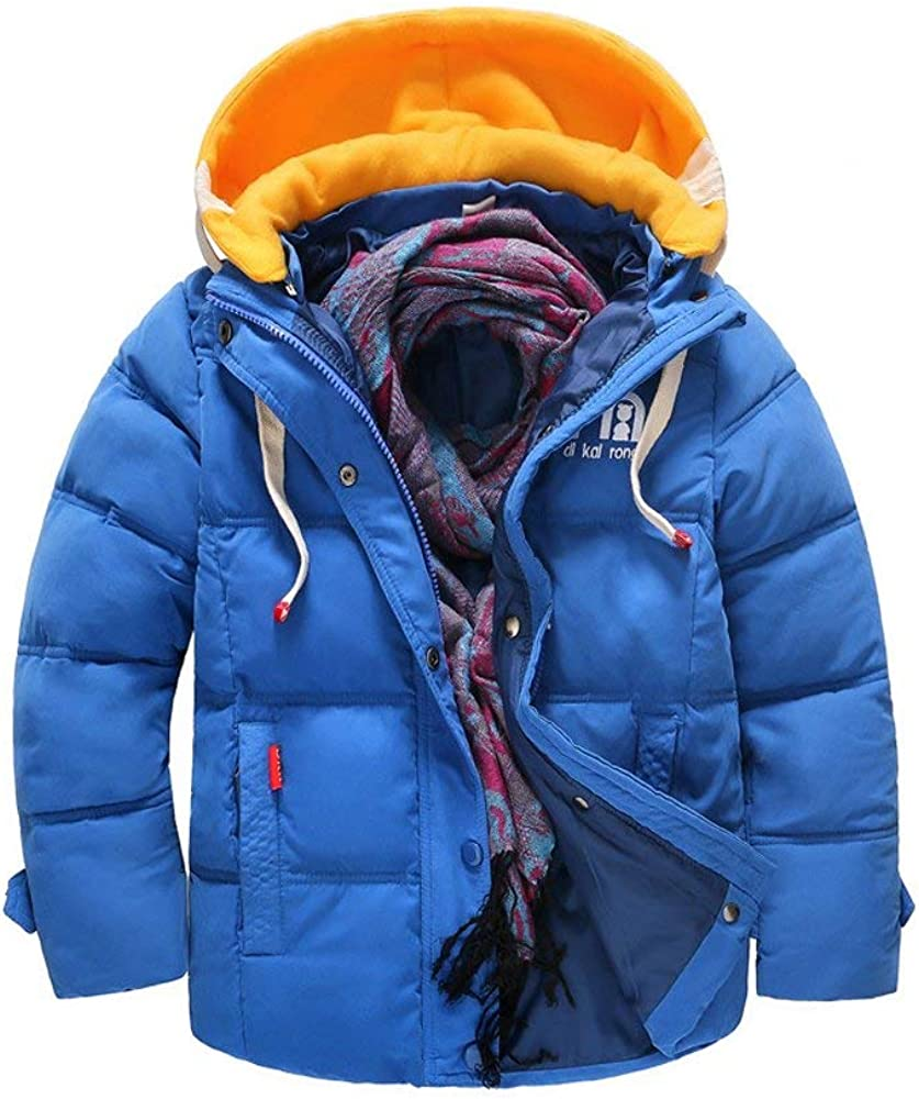 OCHENTA Boys Stylish Winter Coat Winter Parka Jacket Quilted Puffer Downs Coat