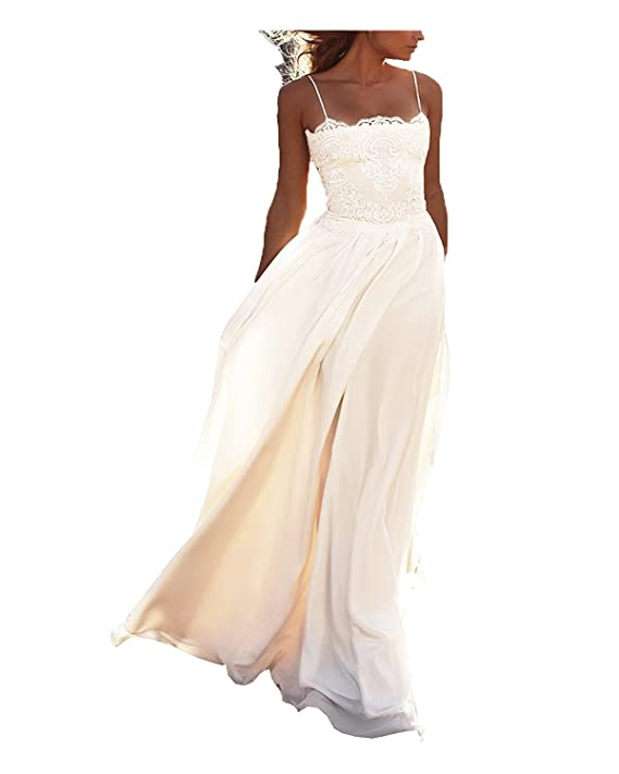 DREAMYDESIGN Boho Hochzeitskleid