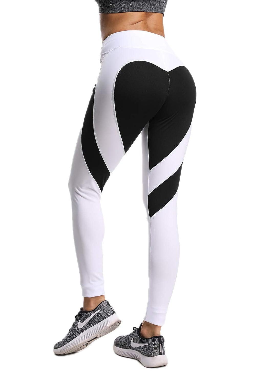 FITTOO Pantaloni Sportivi Donna Leggins Sportivi Fitness Pantaloni Yoga