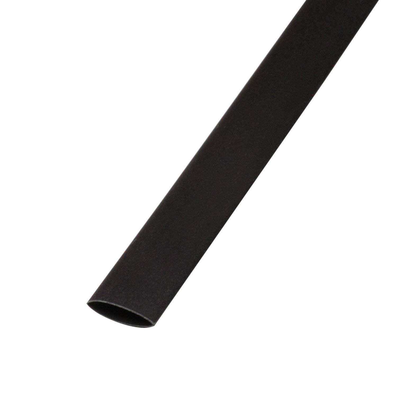 Tubo Termoretr/áctil Negro Contracci/ón 3:1 24mm 1 metro Negro