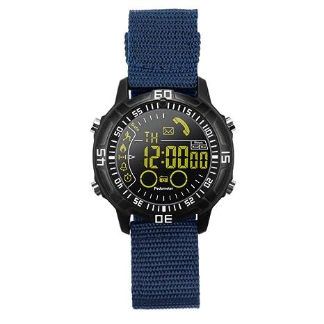 WCPZJS EX28A Bluetooth 4.0 Smart Watch 18 Meses de Tiempo de ...