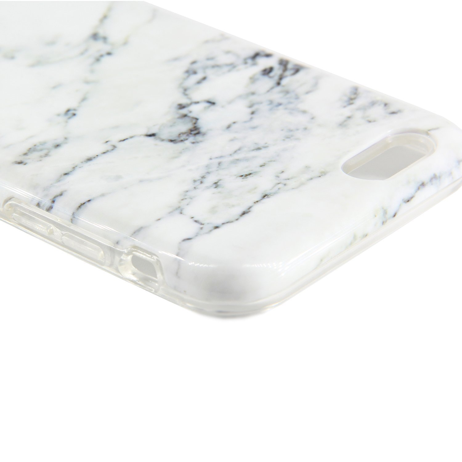 Marble iPhone Protective Tempered Protector Image 3