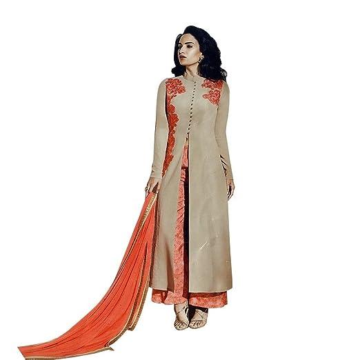d8fc511556 Amazon.com: Designer Anarkali Wedding Salwar Kameez Suit Indian Dress  Ethnic: Clothing