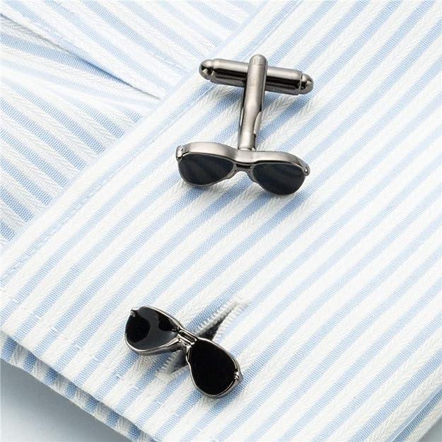 YYXXX Gemelos Gafas de Sol Gemelos Hombres Camisa Francesa