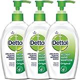 Dettol Sanitizer Regular - 200 ml (Pack of 3)