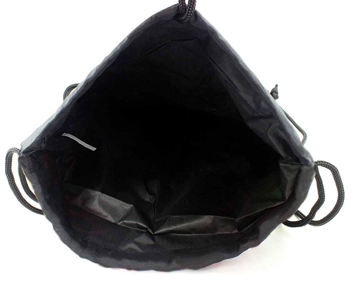 Enimay Womens Yoga Athletic Sports Sling Bag Drawstring Back Pack
