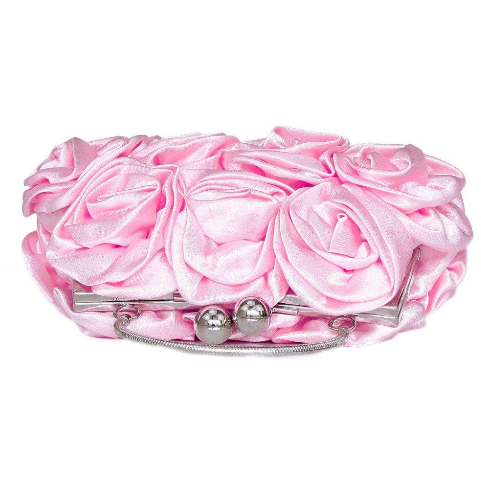 BAILIANG Bolsa De Embrague De La La Mujer Rose Vestido De B07B47GGF8 ...