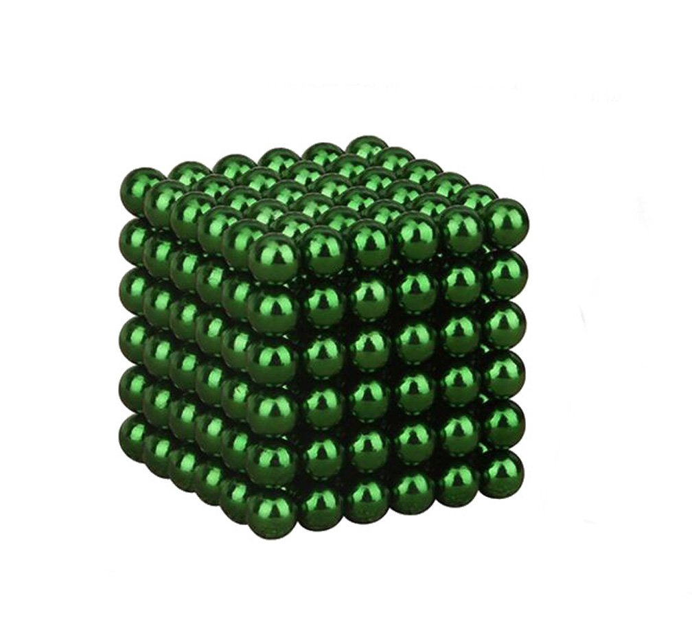 WYBAM Magnetic Cube Mashable Rollable Smashable Neocube Fidget Toy Buckyballs Educational Toys 216pcs for Adult and Children(5mm) by WYBAM (Image #1)