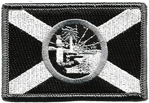 Gadsden and Culpeper Florida Tactical Flag Patch (Full Color)