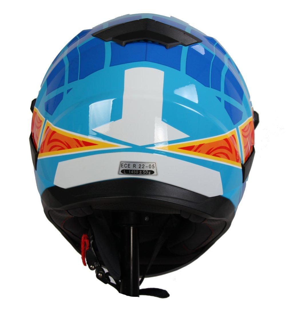 BHR 94089 Casco Integrale Modello Tourer 714 S Azzurro