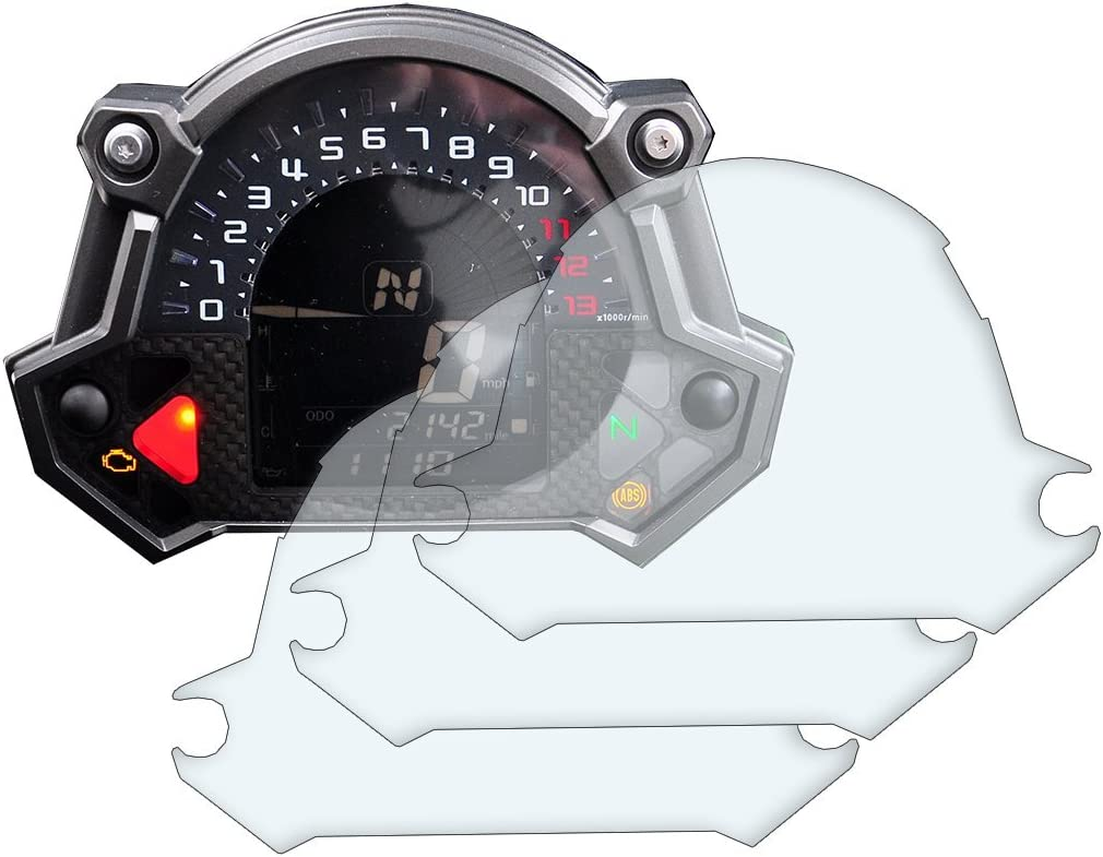 3 X Kawasaki Z400 Z900 Z650 2017 Armaturenbrett Displayschutz Ultra Klar Auto