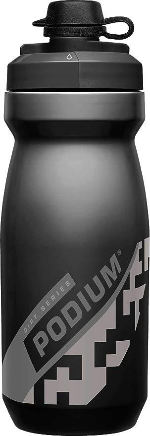 CamelBak Podium Dirt bidón de agua 620 ml Bicicleta Negro, Gris ...