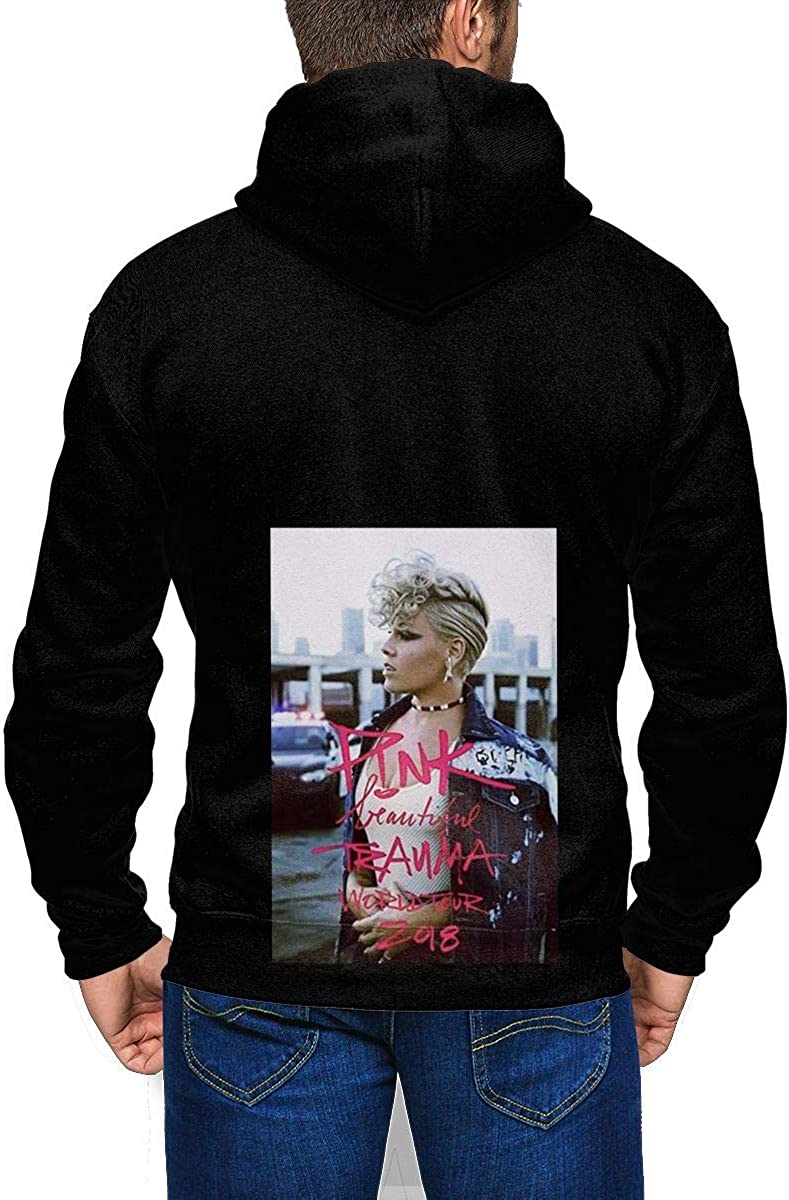 Asking Alexandria Logo Mens Winter Jacket Clothes Plus Velvet Long Sleeve Hooded Sweat Shirt Pullover