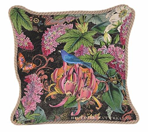 Michel Design Works Botanical Garden Decorative Square Throw Pillow, 18 x 18