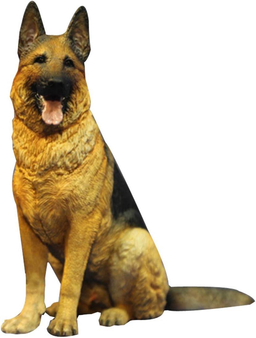 1//6 Scale Shepherd Dog Model Dog Figure Toy Figurine Model Kid Gifts Home Decor