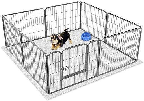 Recinzione Per Cani Giardino.Yaheetech Recinto Per Cani Cuccioli Conigli Gatti Animali Da