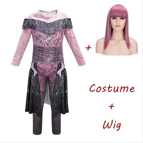 CHNWSJ Traje de Halloween for niñas/Mujeres de la Reina de ...