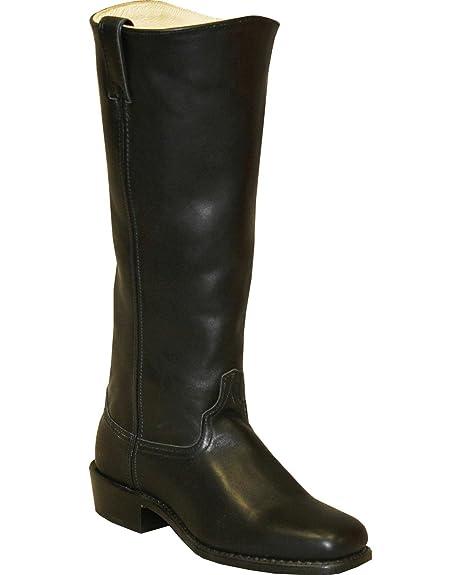 Abilene Men's Cowhide Shooter Boot Square Toe