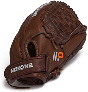 "product image for Nokona X2 BUCKAROO V1200 12"" Fastpitch Baseball Glove - Right Hand Throw"