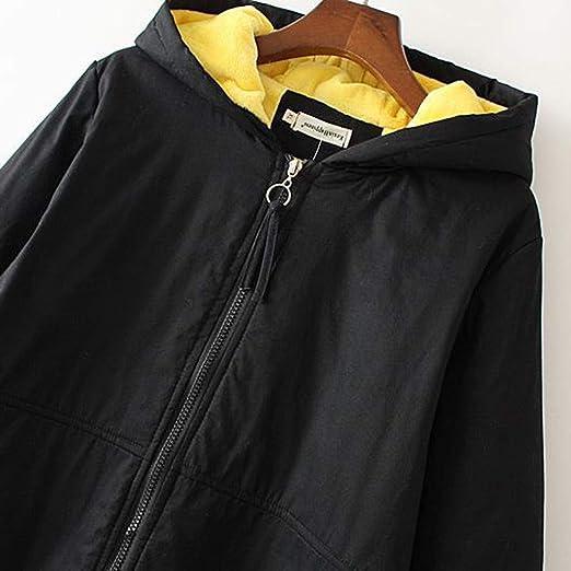 Amazon.com: Abrigo de invierno para mujer, abrigo cálido con ...