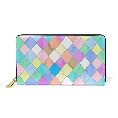 Amazon.com: Rainbow - Monedero de viaje con bolsillo con ...