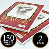Artists Choice Sketch Pad ,75 sheets, Pack of 2