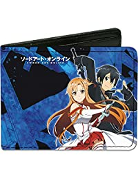 Buckle-Down Wallet Sword Art Online Asuna & Kirito/swords Accessory