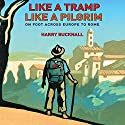 Like a Tramp, Like a Pilgrim: On Foot, Across Europe to Rome Audiobook by Harry Bucknall Narrated by Roger Davis