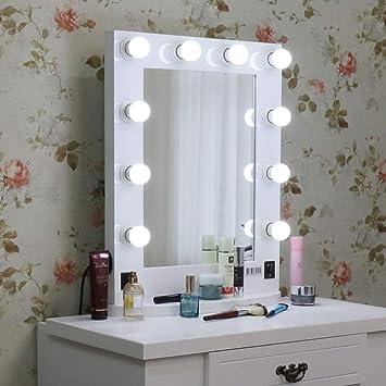 Nouveau LUVODI Miroir Maquillage lumineux Grand Miroir de Table Hollywood DR-52