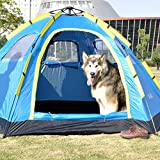 BBX-Automatic-Pop-Up-Group-Camping-Outdoor-Tent-with-Sun-Canopy-5-8-Persons-Windproof-Snow-Shelter-5000-mm-Water-Column-Waterproof-Hiking-Backpacking-Trekking
