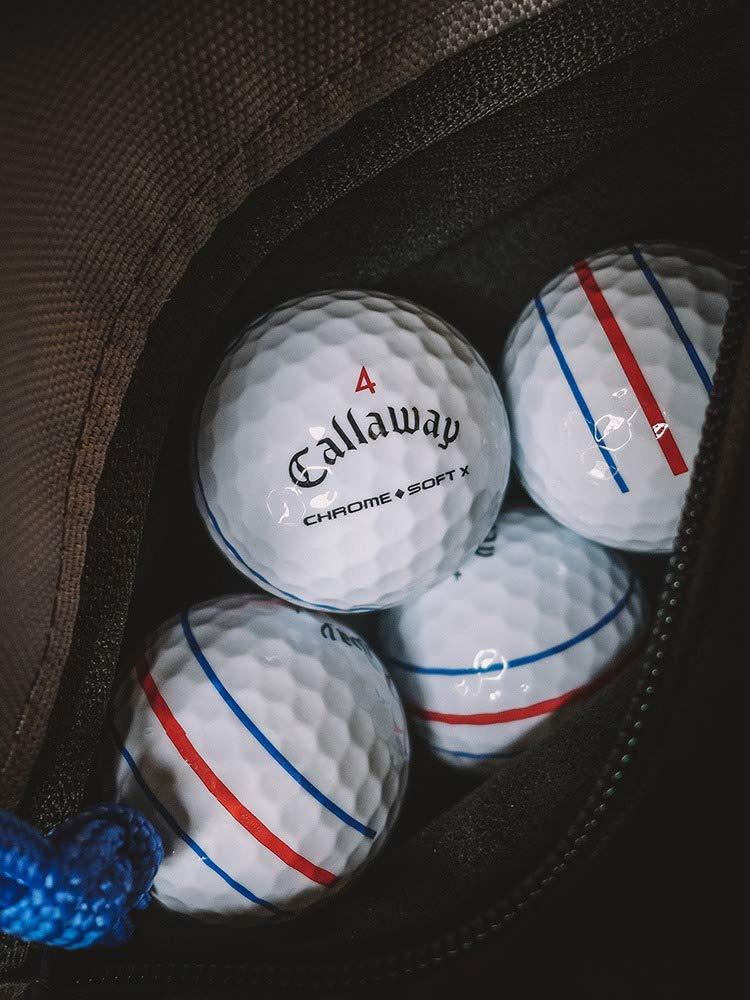 Chrome Soft X Triple Track Golf Balls (One Dozen) by Callaway