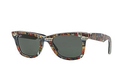 b895da3e36a9 Ray-Ban Original Wayfarer RB2140 Men's Lifestyle Sunglasses - Top ...