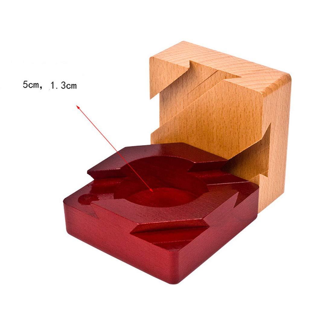 Amazon.com: LtrottedJ Puzzle Wooden Secret Box Compartment Hidden Diamond Gift Surprise Brain Teaser: Toys & Games