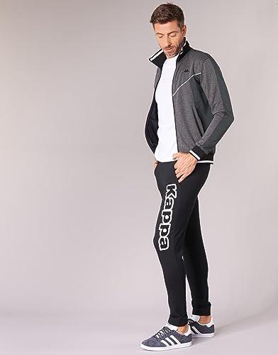 KAPPA Cristiano Pantalones de Deporte & chándal Hommes Negro - XL ...