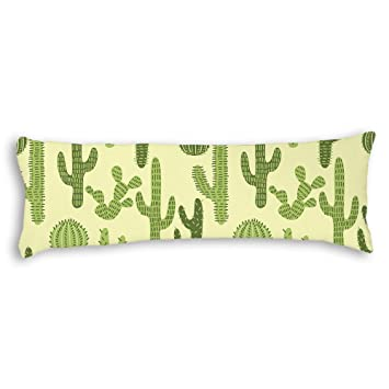 Amazon Veronicaca Cactus Custom Cotton Body Pillow Covers Mesmerizing Cheap Body Pillow Covers