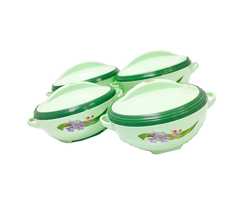 チェロBuffet Insulated Casserole Foodサーバーホットポット(4ピースセット) 4ピースセット   B07FH7CCNJ