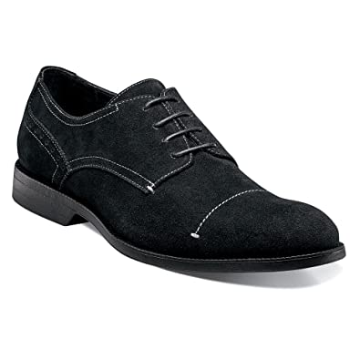Stacy Adams Corday Plain Toe Oxford Mens Navy Suede y Ti Wn As5
