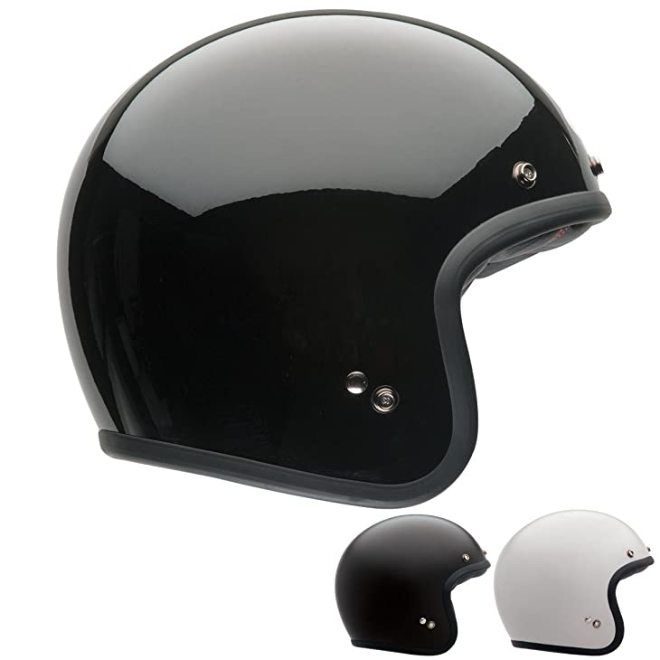 Bell Solid Custom 500 Touring Motorcycle Helmet