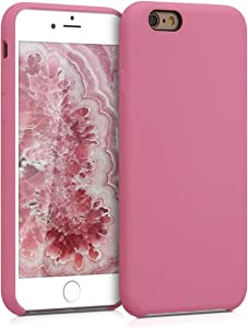 kwmobile TPU Silicone Case Compatible with Apple iPhone 6 / 6S - Soft Flexible Rubber Protective Cover - Deep Rusty Rose