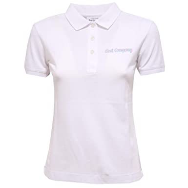 5287x T Best Woman Polo White Shirt Company Maglia Donna WHIYED92