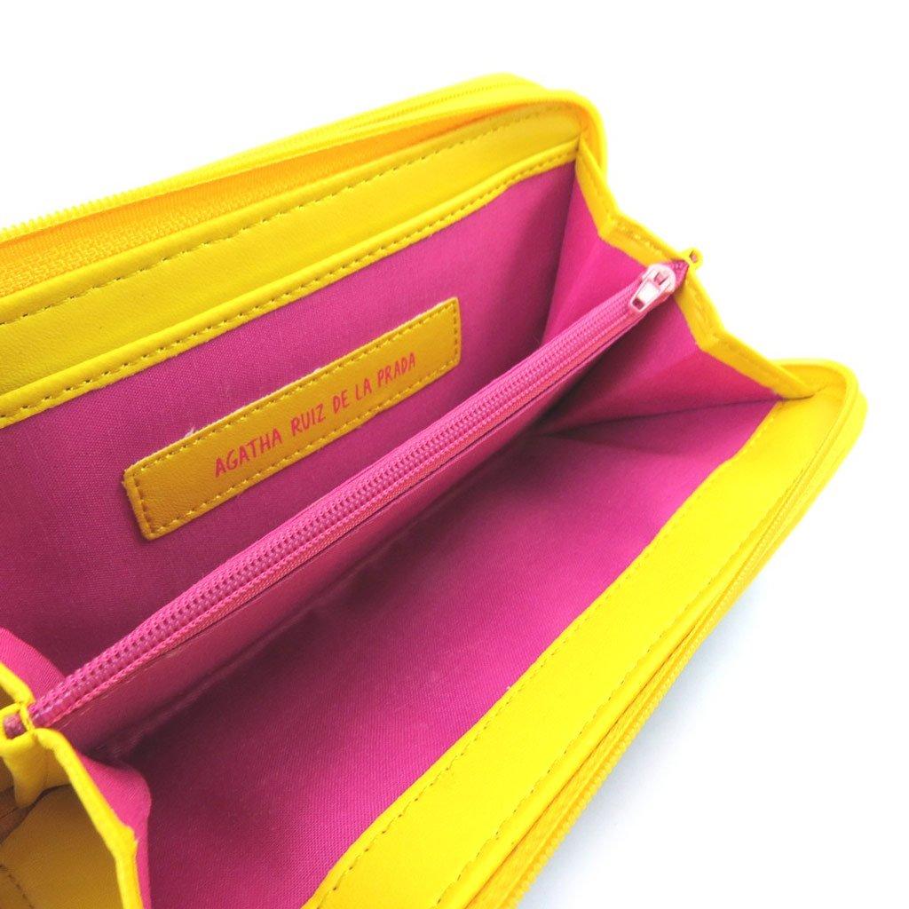 Cartera Agatha Ruiz De La Pradaturquesa amarilla (m).: Amazon.es: Equipaje
