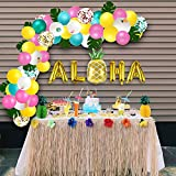 Luau Party Supplies - Hawaiian Decorations Set