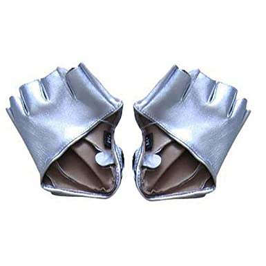 Fahion Gants en cuir des femmes à moitié doigt dansant des accessoires de  gants féminins- 22c3df2849c
