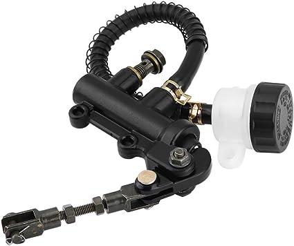 Pompa freno posteriore a pedale freno a pedale posteriore pieghevole Pompa idraulica pompa freno principale per moto ATV Dirt Bike
